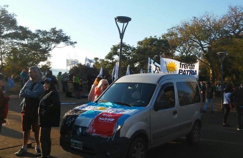 Marcha Por la Soberanía, Contra la Militarización, Misiones Zona de Paz