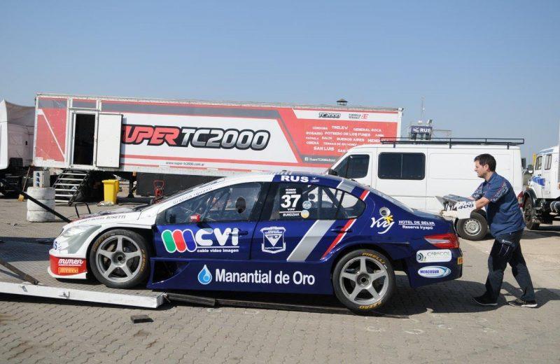 Bundziak corre en Alta Gracia los 100 Millas del TC2000
