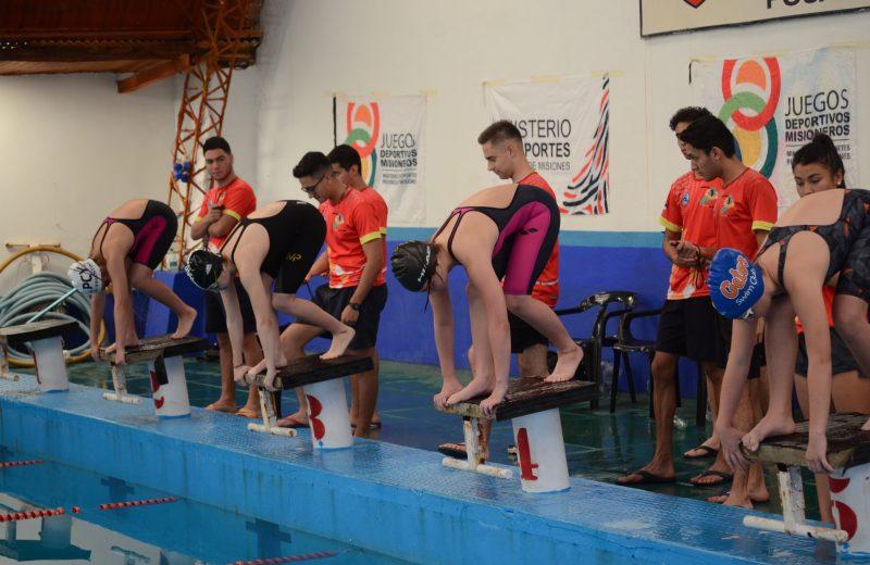 Juegos Deportivos Misioneros 2018: Natación y Tiro pusieron en marcha las Finales