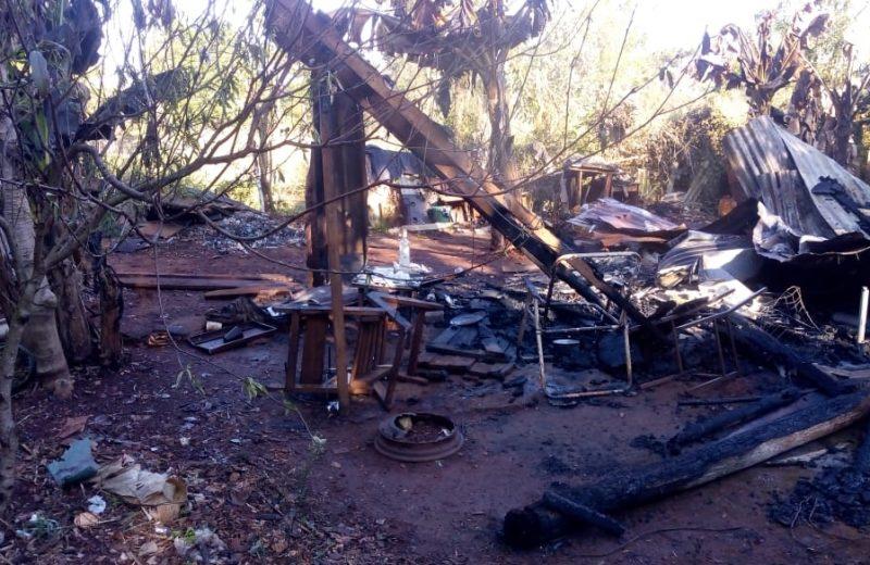 Puerto Esperanza: Falleció al incendiarse su vivienda