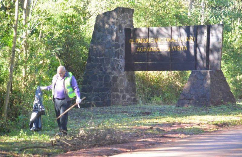 El parque Nacional Iguazú se conserva con ayuda de todos