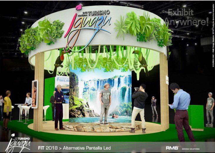 FIT 2018: Iguazú presentará un moderno stand para promocionar el destino