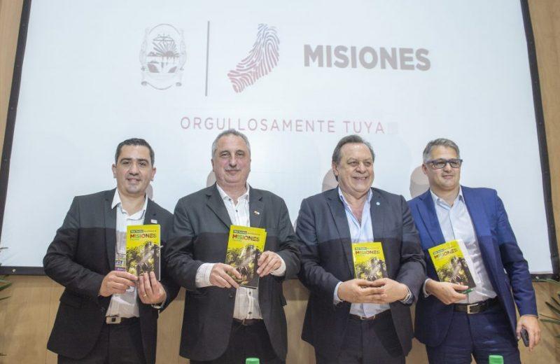 """Presentaron la nueva """"Guía de Turismo de Misiones"""""""
