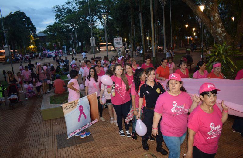 Iguazú lucha contra el cáncer de mama