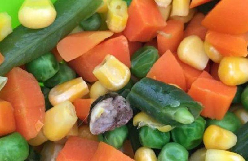 La ANMAT retiró del mercado de surtido de hortalizas congeladas
