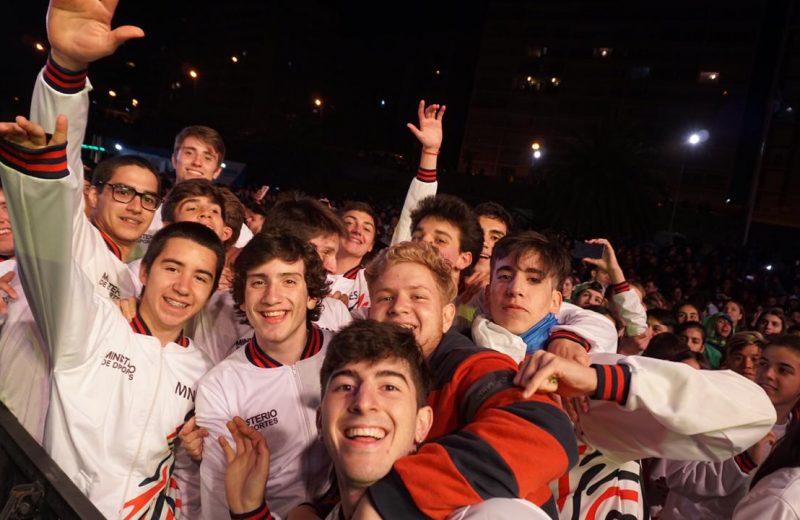 Misiones se distinguió en la apertura  de los Juegos Nacionales Evita