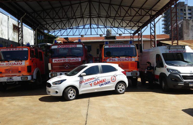 Por sexto año consecutivo los bomberos de Iguazú sortean un automóvil 0km