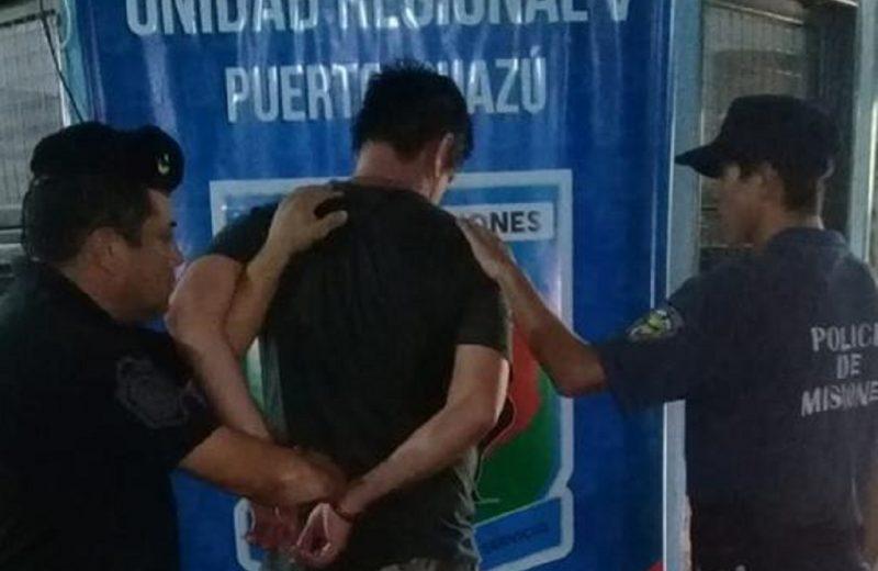 Prófugo por golpear a su pareja fue detenido
