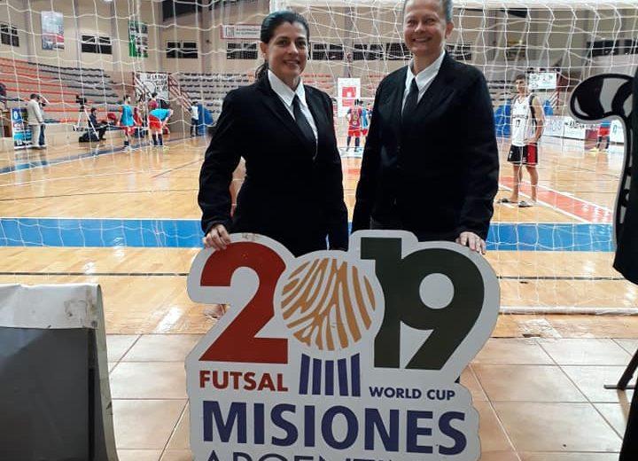 Luz Samudio, la misionera que dirigirá en el Mundial