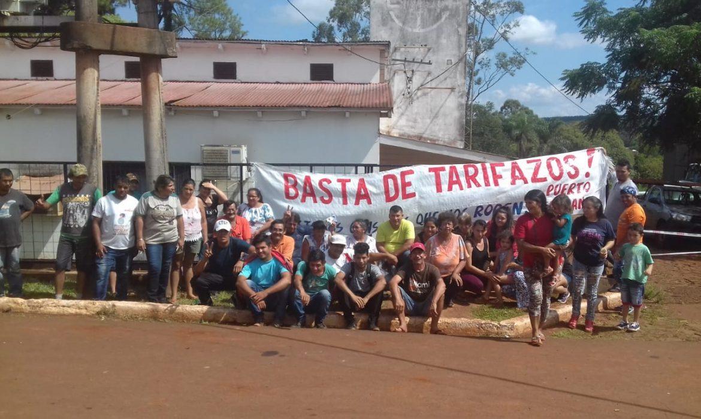 Puerto Esperanza: la protesta frente a EMSA supera las 24 horas