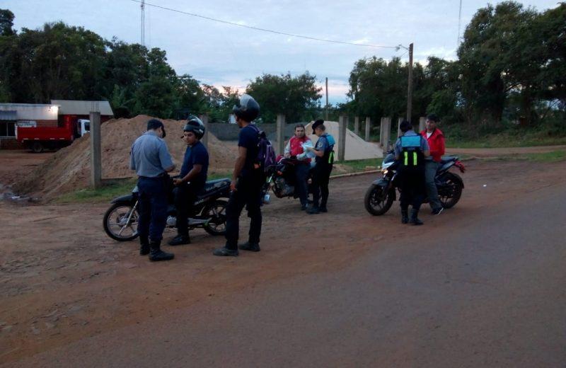 Mega operativo integral de seguridad dejó como saldo 28 motocicletas retenidas y 2 automóviles