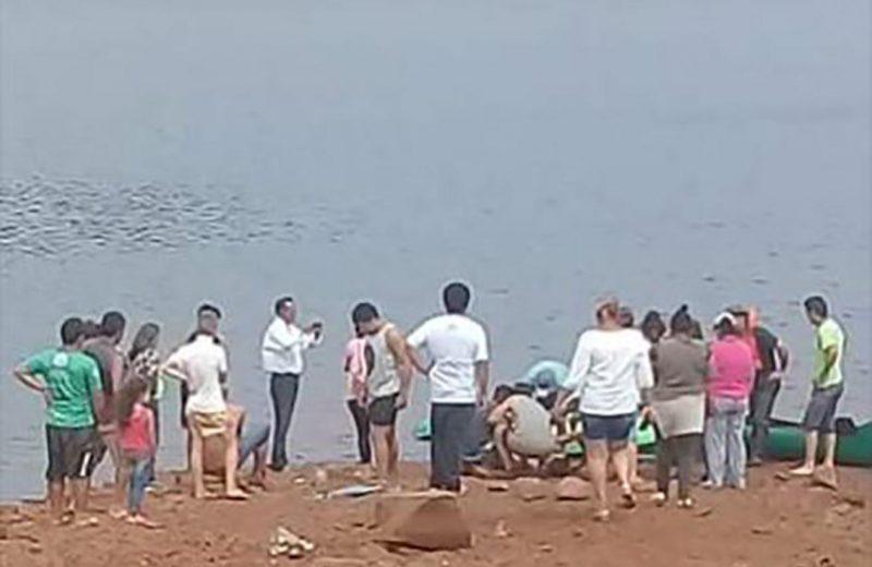 Encontraron el cuerpo del joven desaparecido en aguas del lago Urugua í