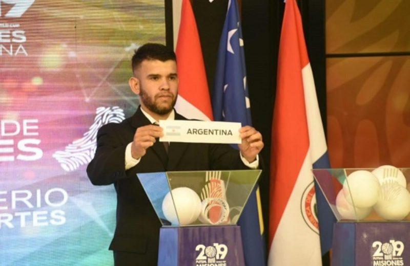 Ya se definieron los grupos del mundial de Futsal
