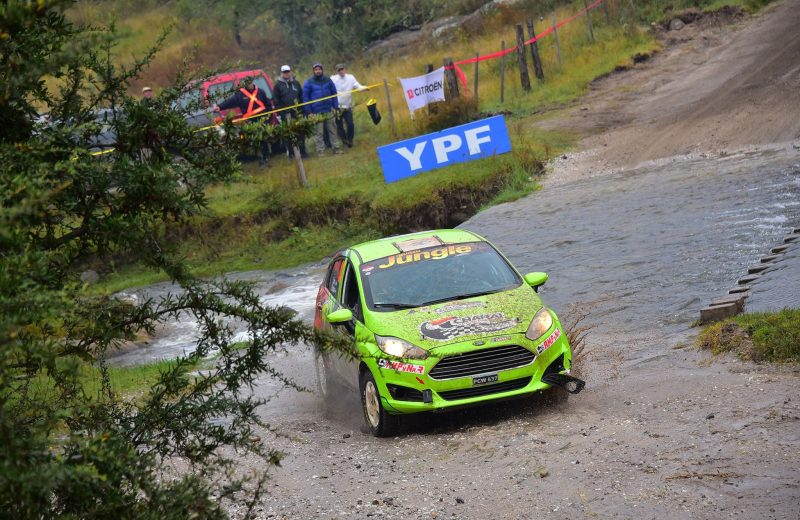 La dupla Zarza-Espínola terminó la Etapa 1 del rally de Argentina en la tercera posición