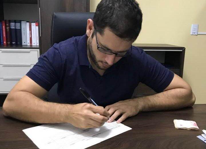 Fabian de Sa confirmó su candidatura a primer concejal