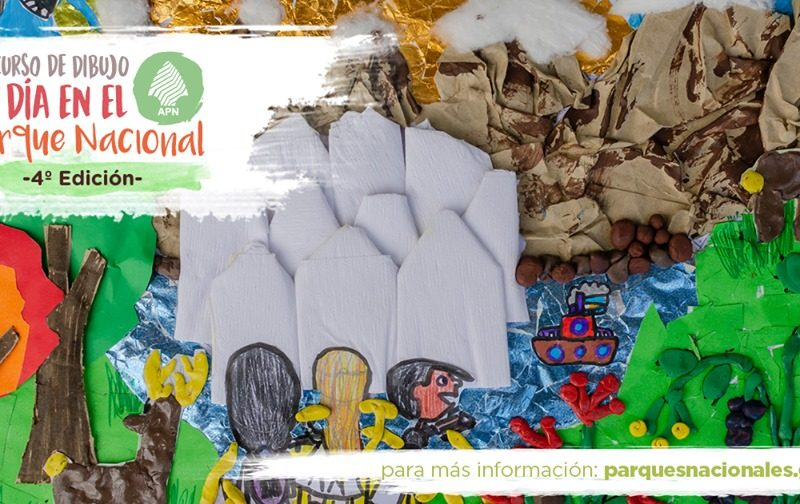 """Se lanzó la 4° edición del Concurso Nacional de Dibujo """"Un día en el Parque Nacional"""""""