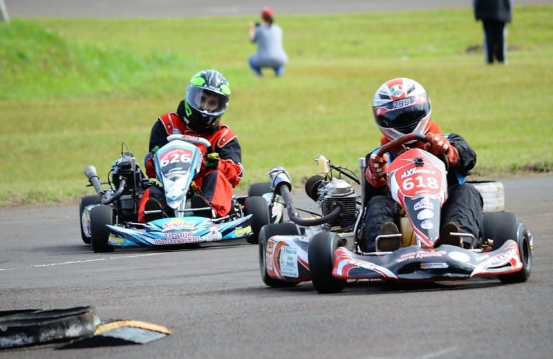 Luis Ramírez sumó experiencia en la tercera fecha del Misionero de Karting