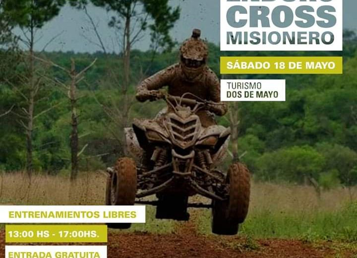 Dos de Mayo listo para recibir a la segunda del Súper Enduro Cross