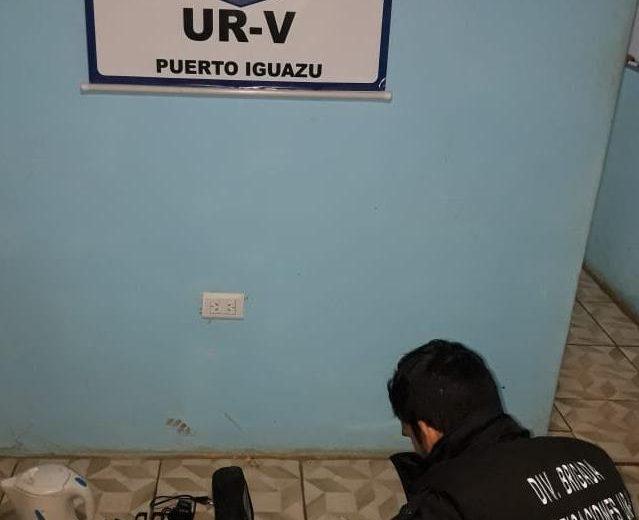 En un allanamiento la policía recuperó celulares y electrodomésticos robados
