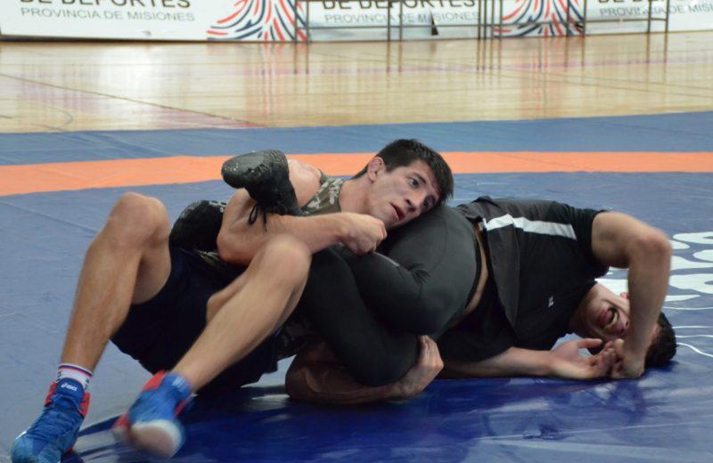 Ricardo Báez se prepara en el CePARD para luchar en los Juegos Panamericanos 2019