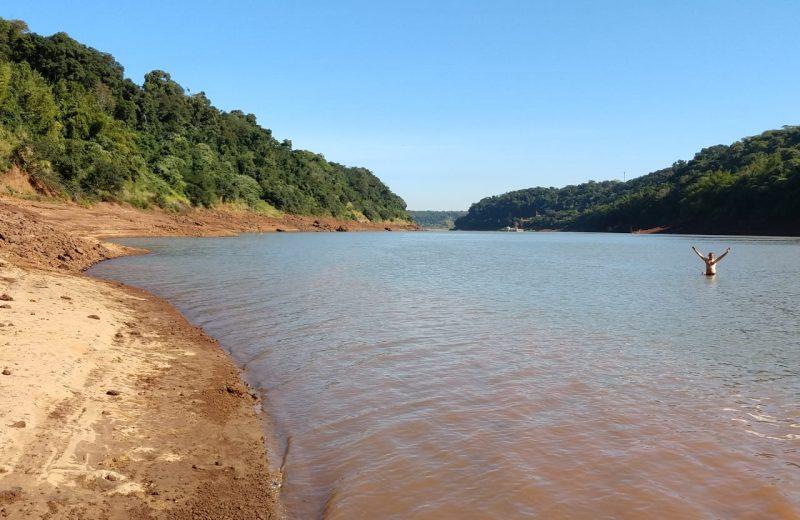 Aumenta progresivamente el caudal del rio Iguazú