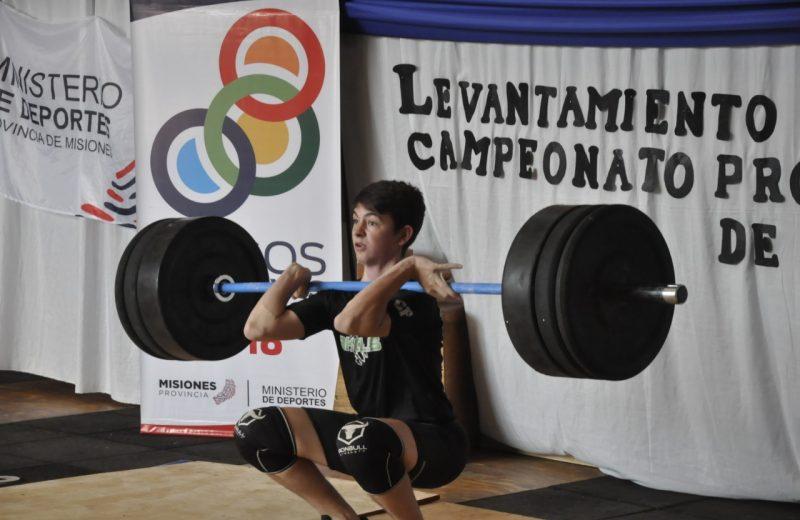 Juegos Deportivos Misioneros: este sábado será la Final Provincial de levantamiento de pesas