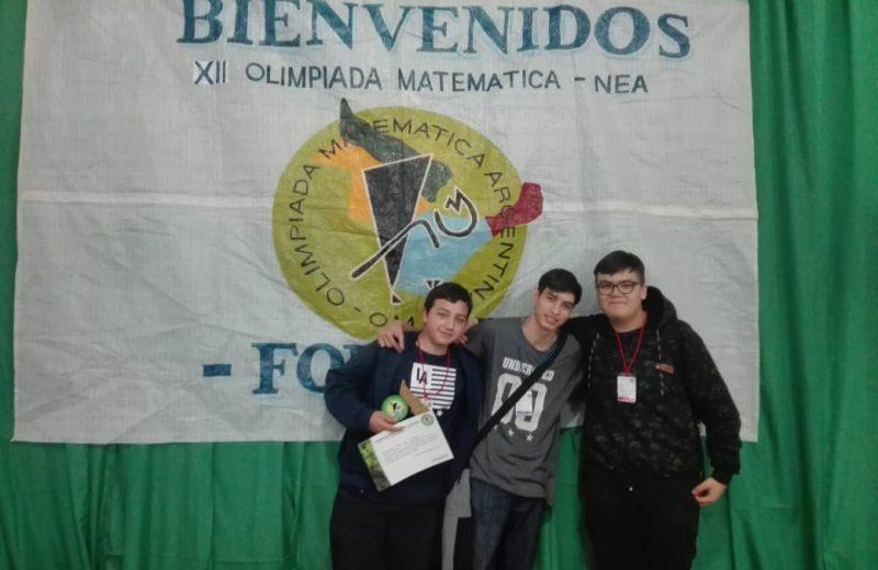 Misionero logro el segundo lugar en las olimpiadas de matemáticas
