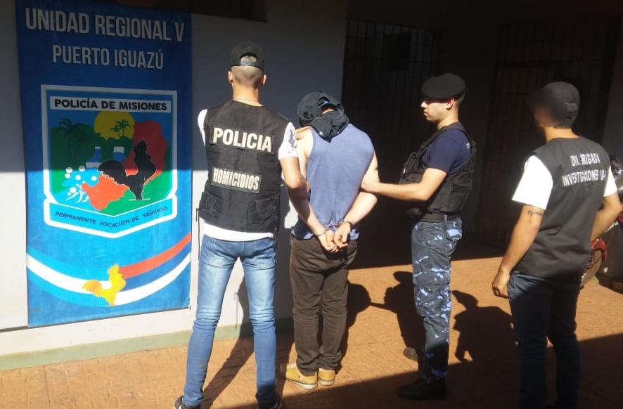 Detuvieron al hijo de la pareja asesinada en Andresito