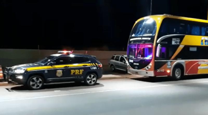Ómnibus argentino tenía 200 en multas por exceso de velocidad en Brasil y fue retenido