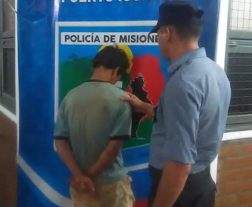 """Cayó """"Brasilia"""" involucrado en el robo de elementos de un vehículo"""