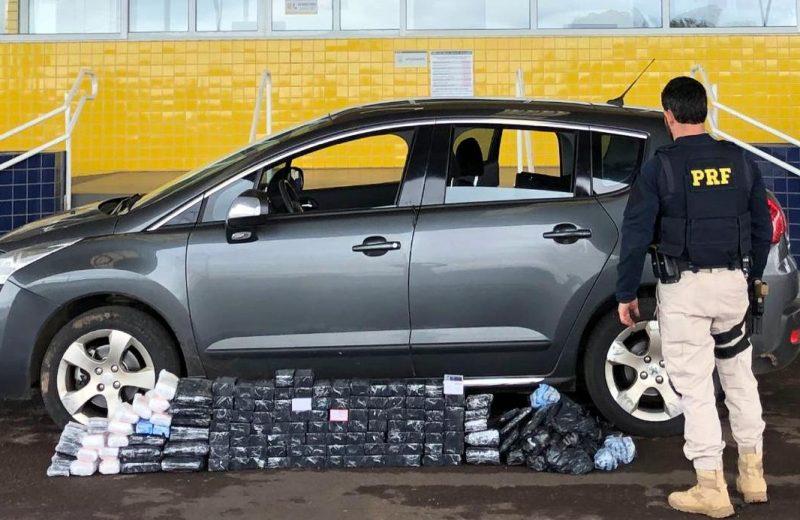 Pareja Argentina sorprendida en Brasil con 93 celulares escondidos en el vehículo