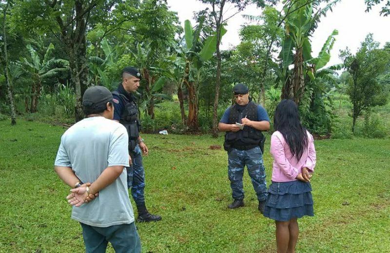 Policías y familiares continúan la búsqueda de Willian Alejandro