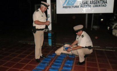 Puerto Libertad: Prefectura secuestró más de dos toneladas de marihuana