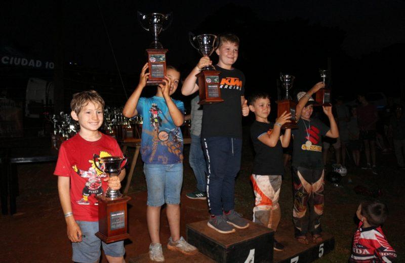 Motocross del Nordeste consagró a sus campeones en San Pedro