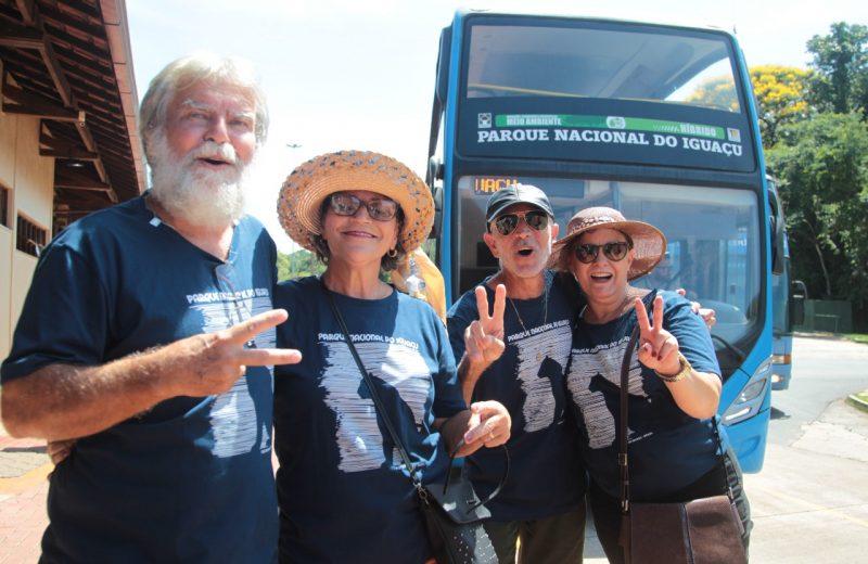Marlucia Pimentel es la turista 2 millones de las cataratas lado brasileño