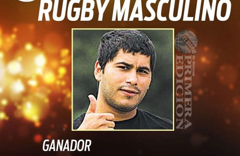 Carmona el capital del Cata es el mejor jugador de Rugby del año