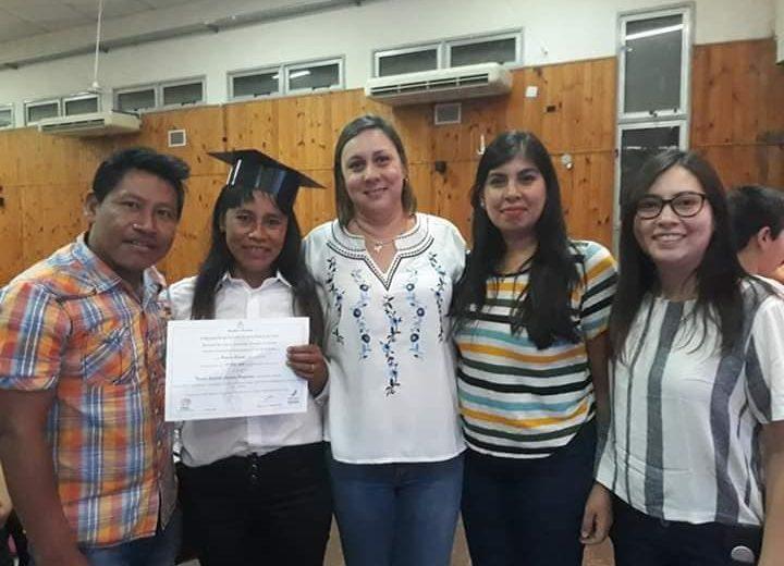 Cada vez son más los jóvenes Mbya Guarani que se capacitan