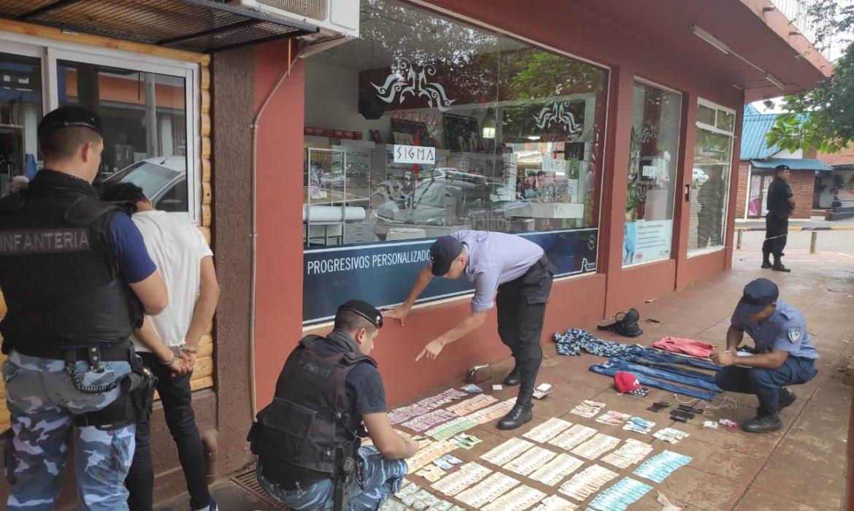 """Detuvieron a """"Dani Chorrin"""" por el robó de más de 500 mil pesos"""