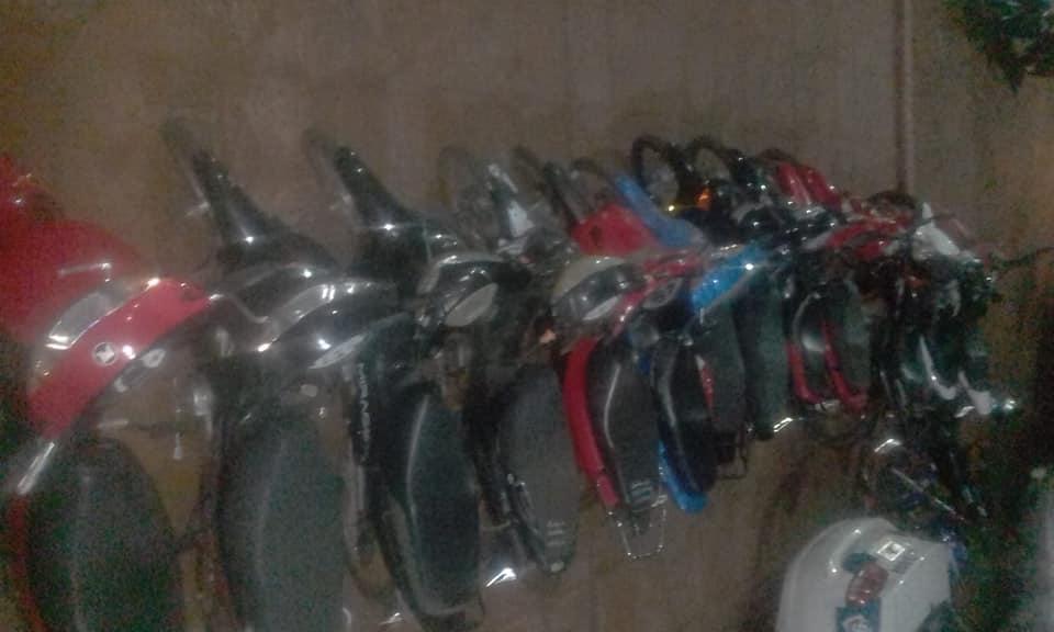 Secuestraron 14 Motos en Operativos de Seguridad