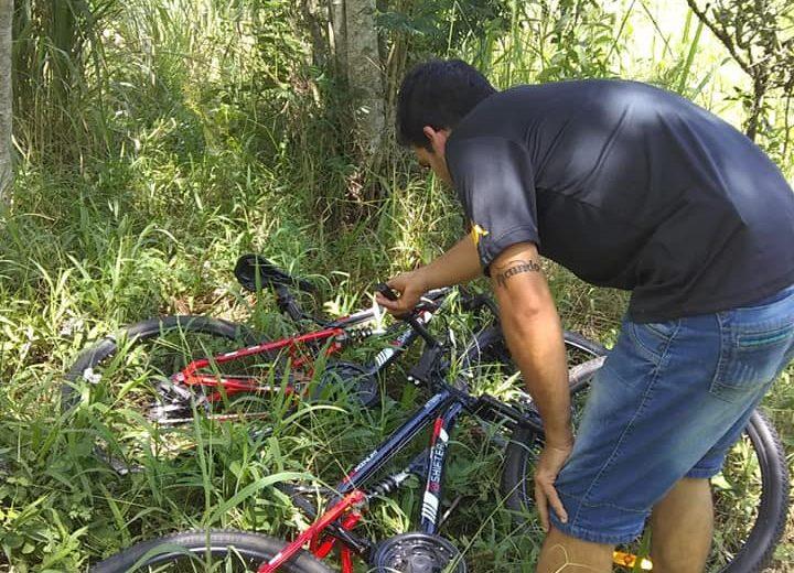 Se llevó dos bicicletas de una vivienda y fue detenido