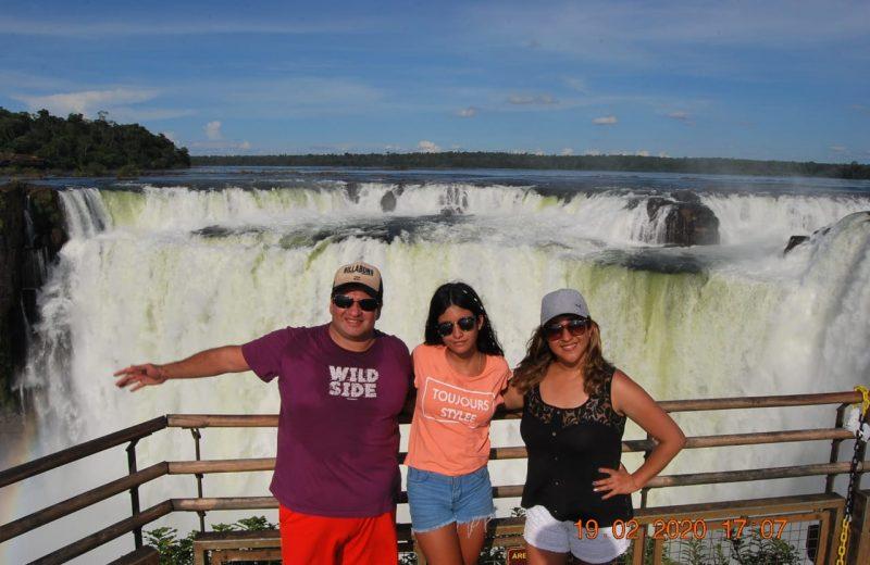 Cataratas sorprende a los turistas con menor caudal de agua