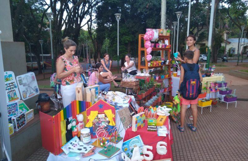 Iguazú emprende promociona sus productos en la Feria de carnaval
