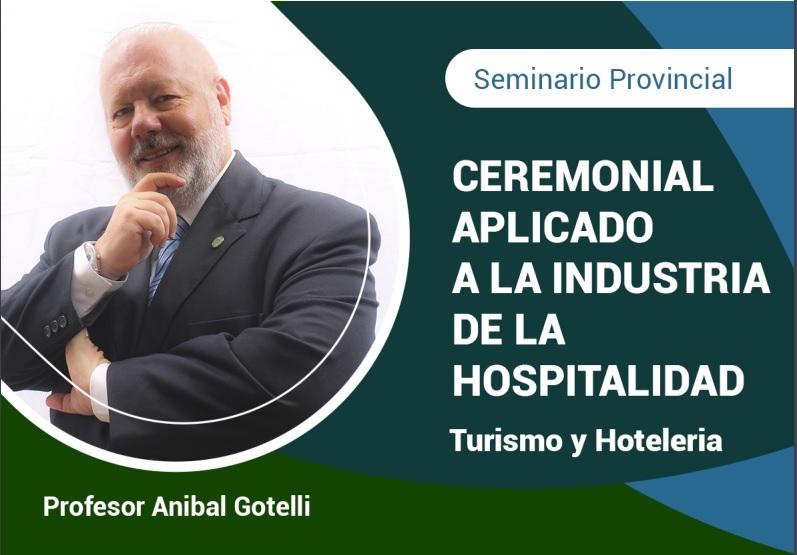 """Capacitación: """"Ceremonial aplicado a la industria de la hospitalidad"""""""