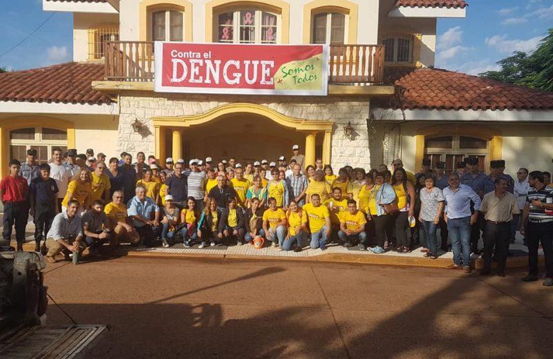 Operativo todos contra el dengue en Iguazú