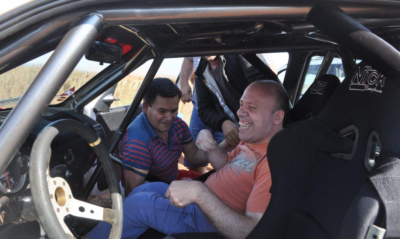En las Comunitarias del rally se cumplió el sueño a Coqui