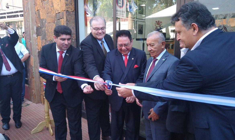 El consulado paraguayo inauguró su nueva oficina en Iguazú