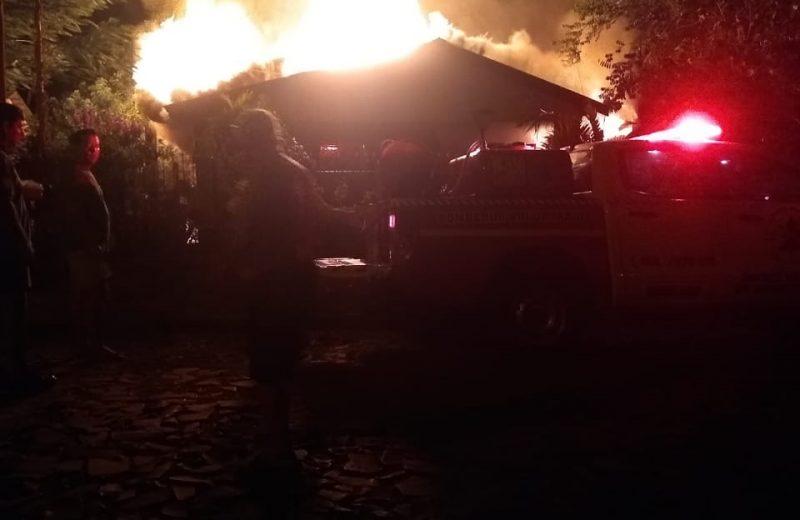 Wanda: familia se quedó con lo puesto tras un incendio