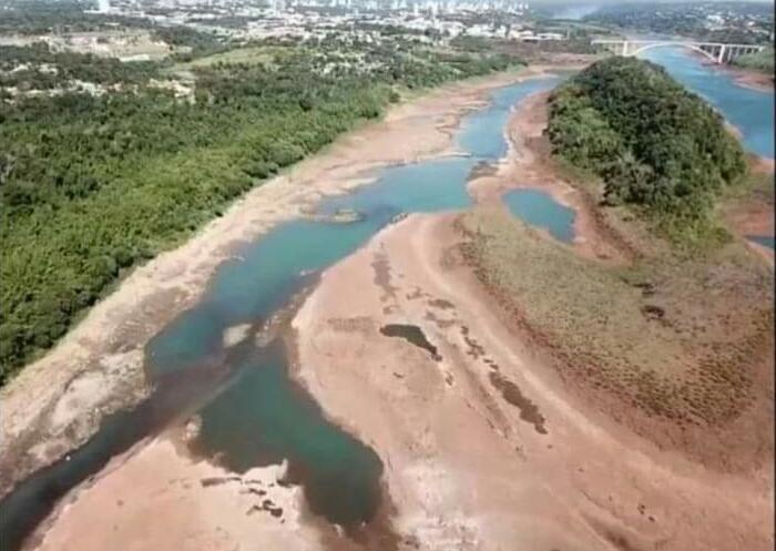 Argentina y Brasil acordaron el aumento del río Paraná