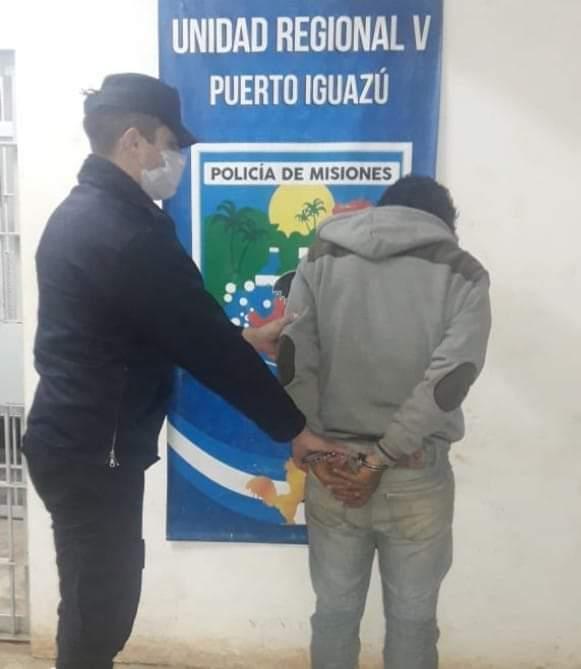 Detuvieron a un hombre acusado de amenazar a su pareja