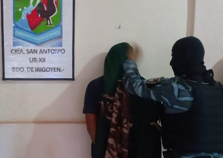 Atacaron a machetazos a policías y fueron detenidos